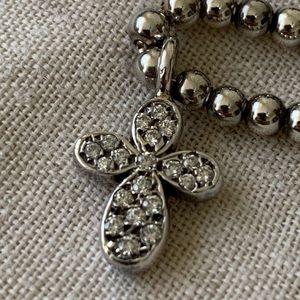 Folli follie silver necklace